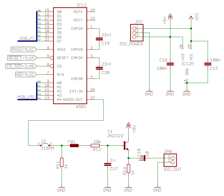 6502 Home Computer - SID (Sound) | grappendorf net
