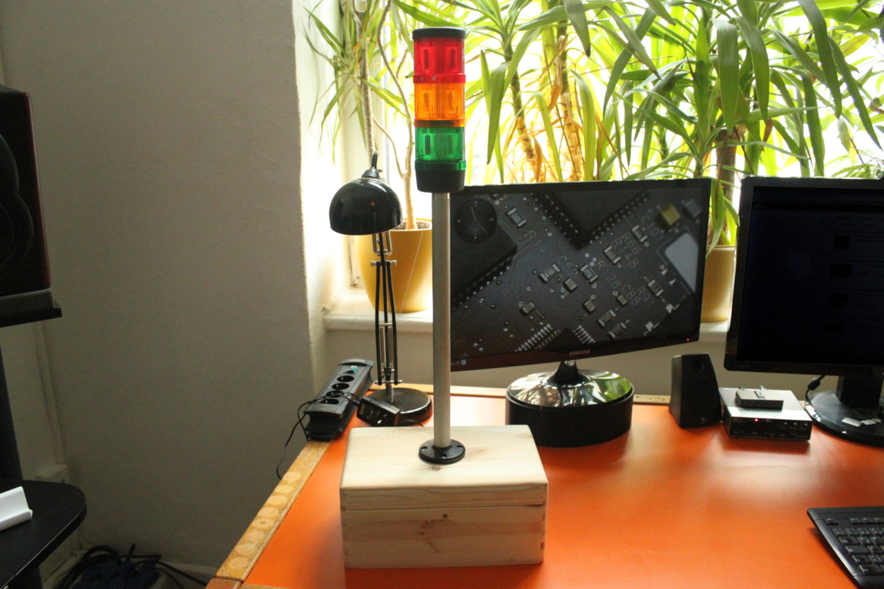 Signal Tower Arduino Lights Dimmer For Multiple Lamps Final