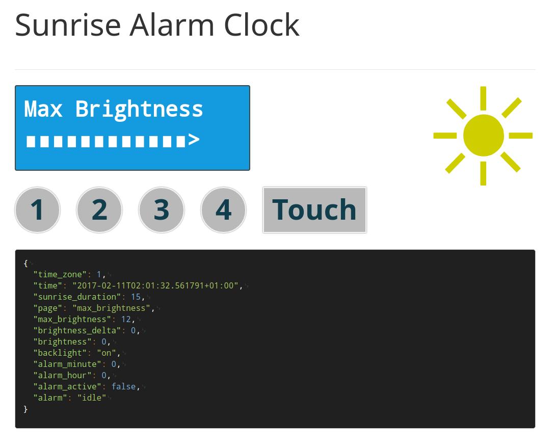 Sunrise Alarm Clock   grappendorf net